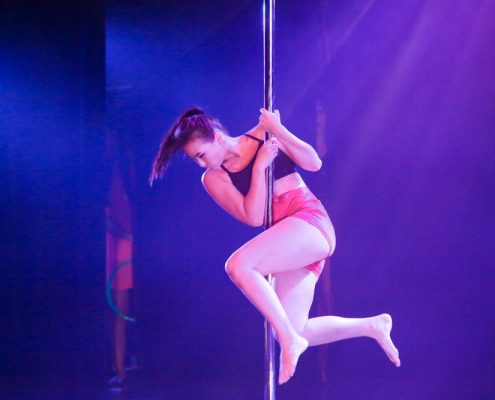 Pole dance barre
