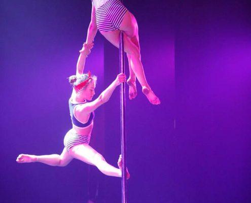 cours de pole dance Bruxelles